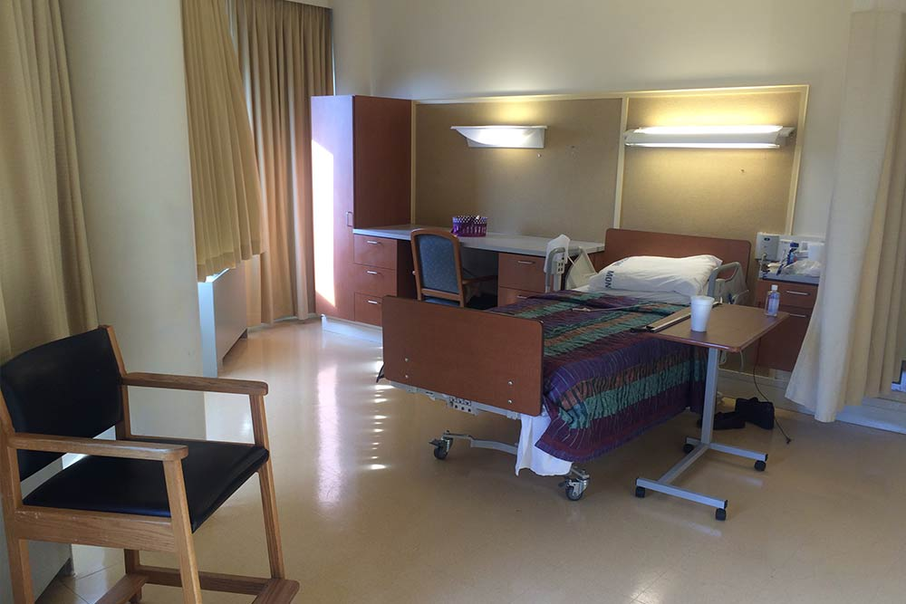 Interior of a room at Morningside Nursing and Rehabilitation Center